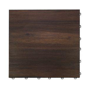 Vinyltrax Dark Oak Floor Tiles