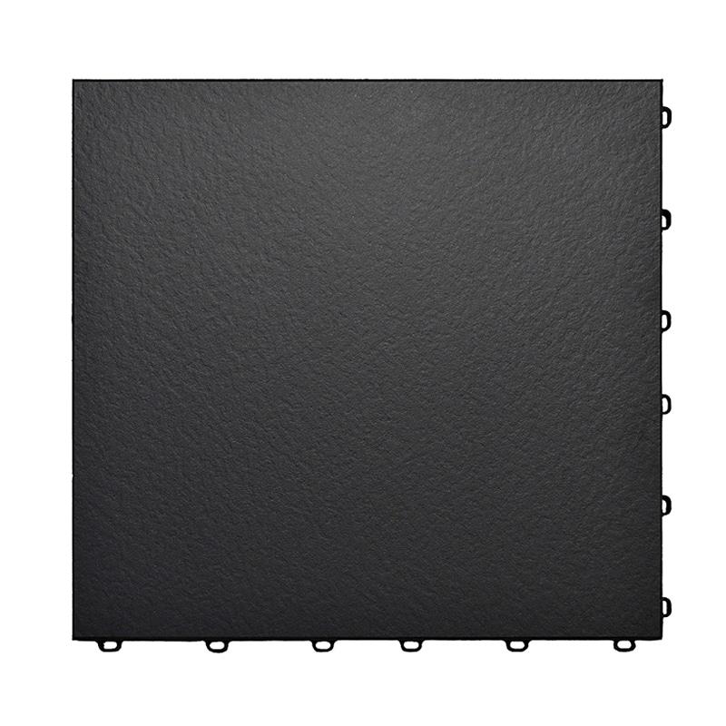 Vinyltrax Matte Black Floor Tiles