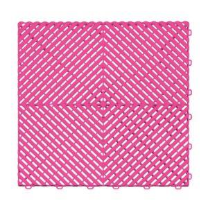 Ribtrax Carnival Pink Floor Tiles