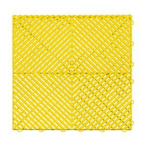Ribtrax Citrus Yellow Floor Tiles