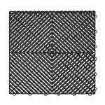 Ribtrax Jet Black Floor Tiles