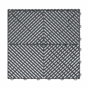 Ribtrax Slate Grey Floor Tiles
