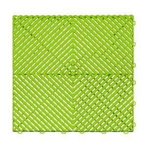 Ribtrax Techno Green Floor Tiles